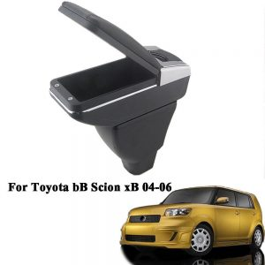 Car Center Console Armrest Storage Box New Black For Toyota bB Scion xB Yaris 2004-2006