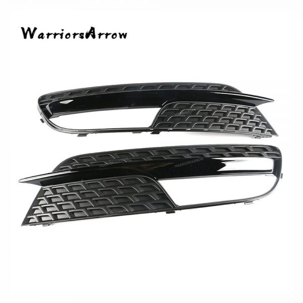 WarriorsArrow Left Or Right Front Fog Light Cover Lower Bumper Grille For Audi A5 2012 2013 2014 2015 2016 8T0807681H 8T0807682H