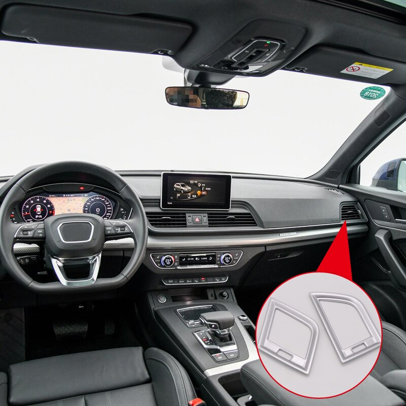 Audi Q5 2018 ABS Plastic Interior Side Air Vent Outlet