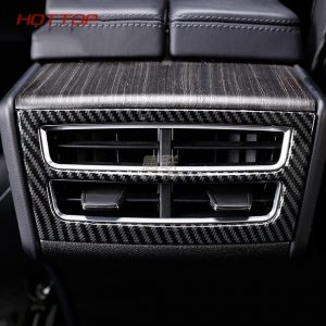 For Tesla Model X 2014 2015 2016 2017 2018 Rear Armrest Box Air Conditioning AC Vent Outlet Cover Trim
