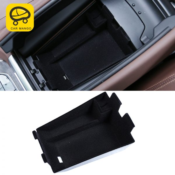 CarManGo for BMW X5 2019 G05 Car Styling Armrest Storage Organizing Box Case Interior Accessories Stowing Tidying
