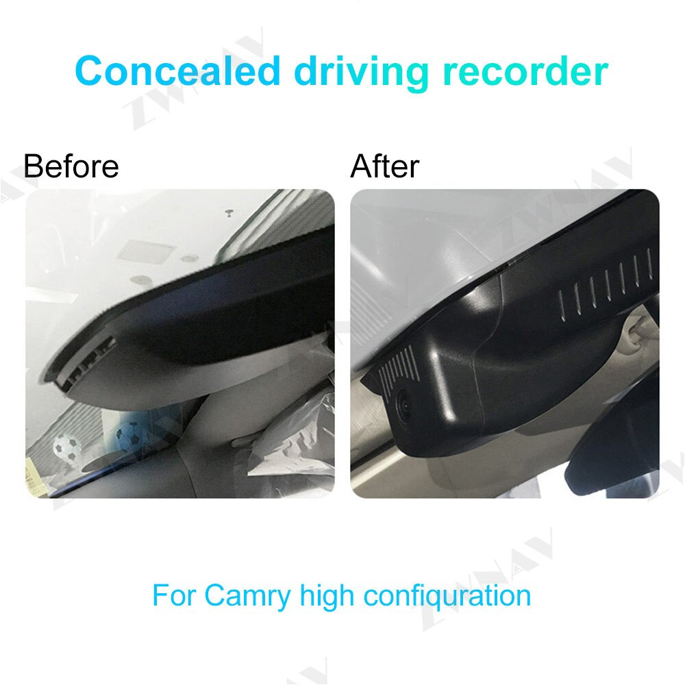 dash camry cam toyota hidden camera dedicated wifi registrator oempartscar dvr dx