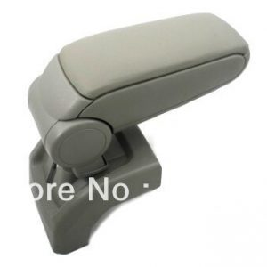 Center Console Armrest Beige Leather For Ford Foucs MK2 2004-2010