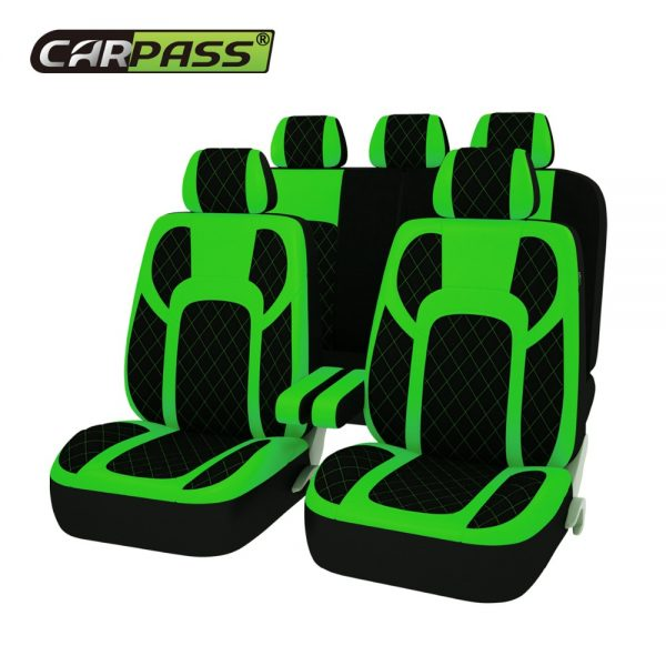 Extreme PU Leather Fur Seat Covers Universal Set Auto Interior Covers Car Seat protector Car Accessories Automobiles