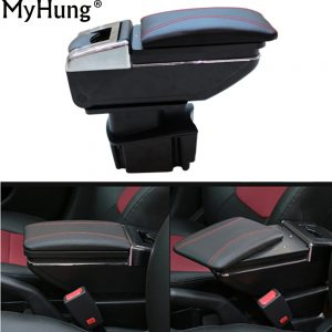 Car Armrest Center Console Storage Box For KIA Rio K2 2011 2012 2013 2014 2015 Auto Accessories Car-Styling Auto Accessories