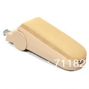 Cloth Center Console Armrest For Volkswagen VW Passat B5 Beige Color