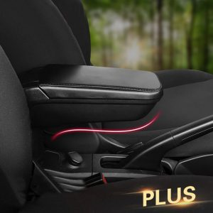 Car Armrest box Leather Cup holder Storage For Mercedes Smart 453 fortwo forfour Car Styling Decoration Modification Accessories