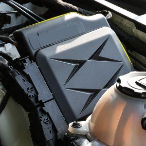 For Audi Q5 Q5L 2018 UP ECU Electronic Control Unit Protection Cap Engine Computer Board Dustproof Cover Car PC Trim