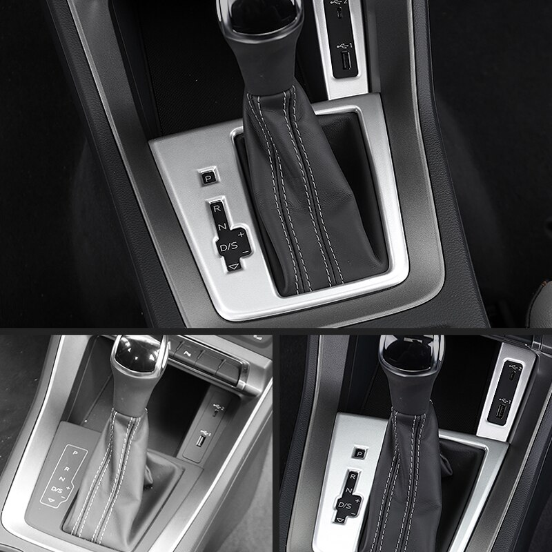 Audi Q3 F3 2019 2020 Car Styling ABS Inner Front Center