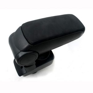 Center Console Armrest (Black Leather) for Ford Fiesta 2009-2012