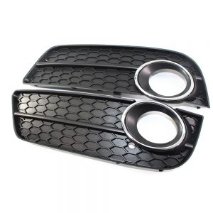 1Pair Car Fog Light Cove For Audi A5 09-11 8T0 807 681/682 Front Fog Light Grille Bumper Cover Car Styling Auto Accessories