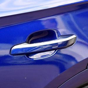 For Audi Q5 2018 Exterior Side Door Handle Decorative Cover Trim Stickers ABS Chrome 4pcs car-styling accessories
