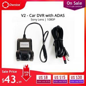 Ownice V1 V2 Mini ADAS Car DVR Carmera Dash Cam Full HD1080P Car Video Recorder G-sensor Night Vision Dashcam accessories