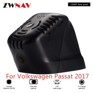 Hidden Type HD Driving recorder dedicated For Volkswagen Passat 2017 DVR Dash cam Car front camera WIfi