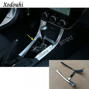 For Toyota Corolla Altis 2014 2015 2016 car cover stick armrest panel Shift Stall Paddle cup switch knob frame lamp trim 1pcs