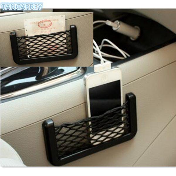 Car storage elastic mesh bag for BMW E46 E52 E53 E60 E90 E91 E92 E93 F30 F20 F10 F15 F13 M3 M5 M6 X1 X3 X5 X6 Audi A4 B5 B6 B8