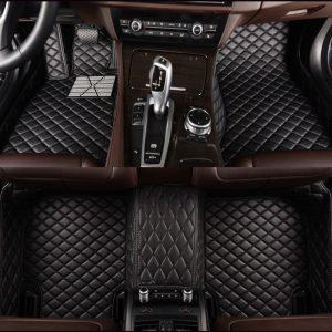 Custom car floor mats for Audi a4 b6 a6 c5 b8 A6L R8 Q3 Q5 Q7 S4 Quattro A1 A2 A3 A4 A6 A8 car stylingcar car accessorie