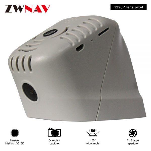 car recorder For Lavida/ Lamando/Passat/Tharu original dedicated Hidden Type Registrator Dash Cam DVR Camera WiFi 1080P