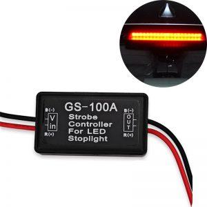 Brake Light Gs-100a Led Flasher Module Strobe Controller Brake Light Flasher Module For Audi A4 B5 B6 B8 A6 C5 C6 A3 A5 Q5 Q7