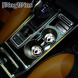 Car styling Gear Panel Sticker cover Trim For Hyundai Tucson 2015 2016 Interior Gear Armrest water Cup Frame covers Trim