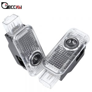 2X LED Car Door Logo Projector Light Welcome Lamp For AUDI A3 A4 B5 B6 B7 B8 A5 C5 A6 C6 C7 A7 A8 Q3 Q5 Q7 A1 80 V8 8V 8L R8 TT