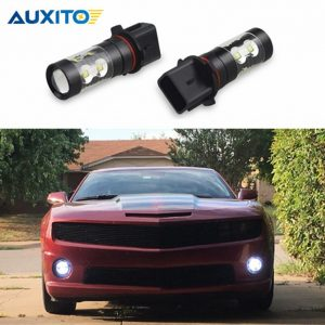 2pcs P13W PSX26W Car LED Fog Light DRL Day Running Light Bulb 50W For Audi A4 B8 Chevrolet Camaro Mercedes W212 C207 A207 W211