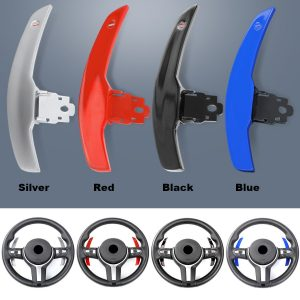 1Pair Steering Wheel Shifter Paddle Shift Extension For BMW 1 Series F20 F21 2 Series F22 F23 Active Tourer 3 Series F30 F31