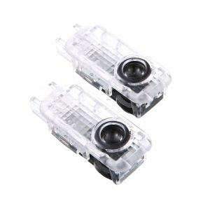 2x LED Car Door Welcome Light LOGO Ghost Shadow Lamp For AUDI A4 B5 B6 B7 B8 A5 A1 A3 C5 A6 C6 C7 A7 A8 Q3 Q5 Q7 TT 80 90 100 8L