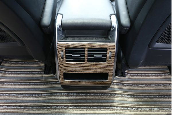 For Land Rover Range Rover Sport RR Sport 2014-2017 ABS Armrest Rear Row Air Conditioning Vent Outlet Frame Cover Trim