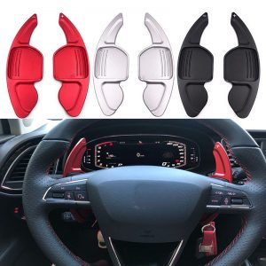 Aluminum Steering Wheel Paddle Shifter Gear Shift Shifter Extension for Seat Leon Cupra 5F Ibiza 6F Arona Ateca Leon ST Alhambra