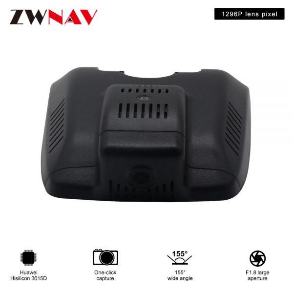 car DVR recorder For Camry 2018 original dedicated Hidden Type Registrator Dash Cam Camera WiFi 1080P