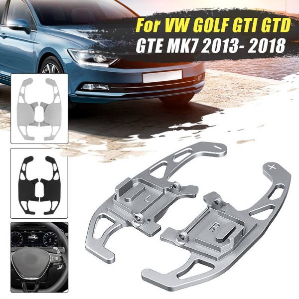 2Pcs Car Steering Wheel Paddle Shift Extend Shifter For VW GOLF GTI R GTD GTE MK7 7 For POLO GTI Scirocco 2014 2015 2016 - 2018