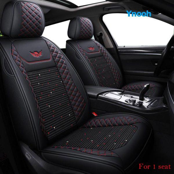 Ynooh Car seat covers For audi tt mk1 mk2 q7 2007 a4 b7 b8 avant a6 c5 100 c4 a1 sportback a6 2006 4f car seat protector