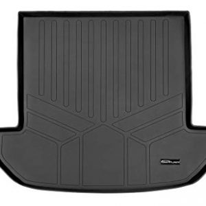 MAXLINER All Weather Cargo Liner Floor Mat Behind 2nd Row Black for 2016-2019 Kia Sorento 7-Passenger Model Only