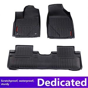 Car Floor mats for Toyota Highlander 2015 Car Accessories car Styling Custom Floor mats TOP Material