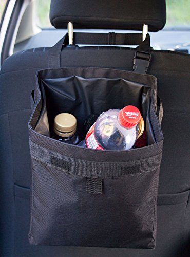 Hominize Car Trash Can - Premium Waterproof Litter Garbage Bag - Extra Large