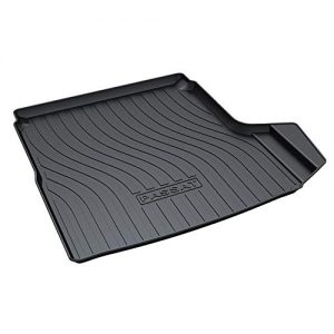 HZGrille Rear Cargo Liner Trunk Floor Mat Compartment Tray Compatible with VW Passat from 2016 to 2018
