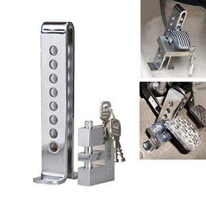 Blueshyhall Security Clutch Pedal Lock Car Auto Brake Pedal Lock Durable Anti-Theft Lock