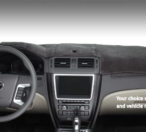Dashmat 72031-00-26 VelourMat Dashboard Cover - Velour (Cocoa)