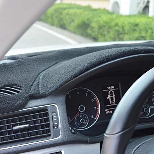 AutofitPro Custom Fit Dashboard Black Center Console Cover Dash Mat Protector Sunshield Cover for 2015 2016 2017 2018 2019 Hyundai Sonata