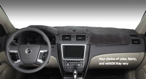 Covercraft DashMat VelourMat Dashboard Cover for Chevrolet Equinox - (Plush Velour, Black)