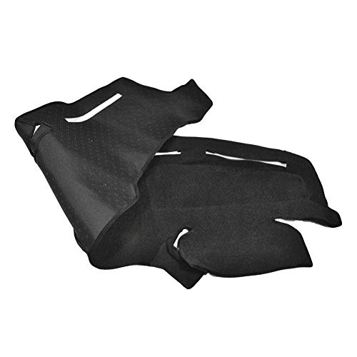 Catinbow Black Center Console Cover Dash Mat Protector Sunshield Cover for Ford Truck F250 F350 F450 1999-2004 Carpet Dashboard Mat