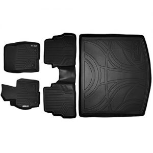 MAXLINER Floor Mats and Cargo Liner Set Black for 2013-2016 Mazda CX-5