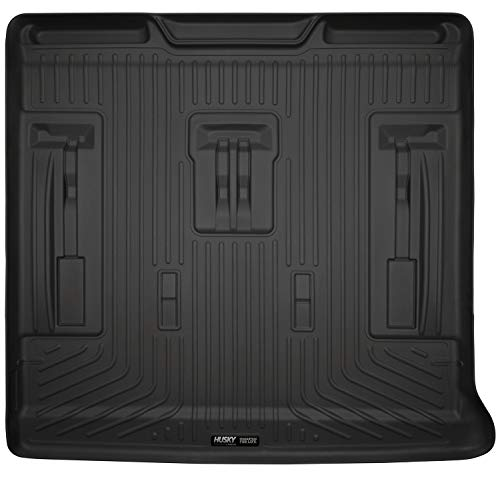 Husky Liners Fits 2007-14 Cadillac Escalade, 2007-14 Chevrolet Suburban, 2007-14 GMC Tahoe - with 3rd Row Seat Cargo Liner