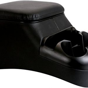 TSI Products Clutter Catcher Black Bench Seat Console