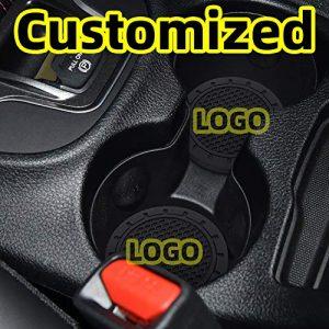 "AOOOOP Car Interior Accessories for Chevrolet Chery Cup Holder Insert Coaster - Silicone Anti Slip Cup Mat for Chevrolet Cruze Malibu Camaro Colorado Equinox Silverado (Set of 2, 2.75"" Diameter)"