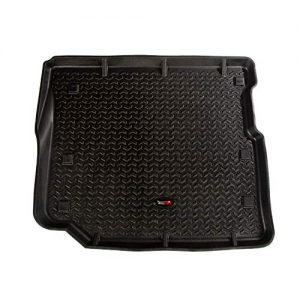 Rugged Ridge 12975.49 Black Cargo Liner, 18-19 Jeep Wrangler JLU, 4 Door