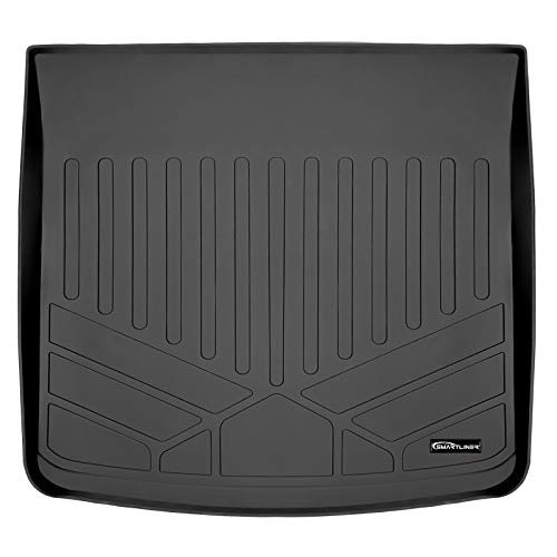 MAXLINER All Weather Custom Cargo Liner Trunk Floor Mat Black for 2016-2018 Lincoln MKX / 2019 Nautilus