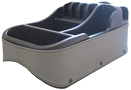 Texas Saddlebags Clutter Catcher Universal Floor & Seat Console Grey (50815)