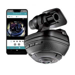 Razo d'Action 360 Dash Cam: 4k Dash Camera for Car with Built-In WIFI and GPS, Sony Video Sensor, WDR, G-Sensor, Stereo Microphone, Complete Car Camera Video Security System